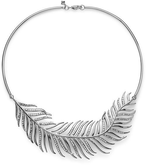 Feather Collar Necklace • $148