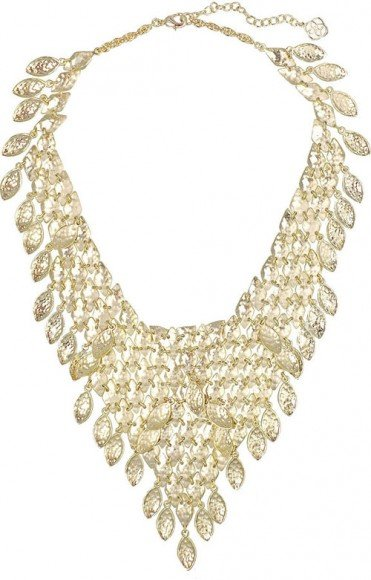 Kendra Scott Tanay Statement Necklace, Gold Plate • $195