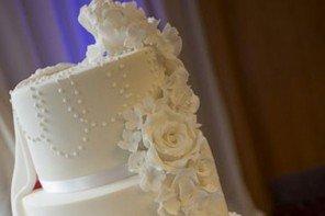 We Love This Surprise Wedding Cake!