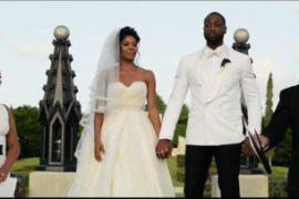 dwayne wade wedding video