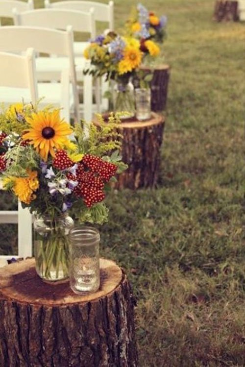25 of the best fall wedding ideas sunflowers junglespirit Gallery