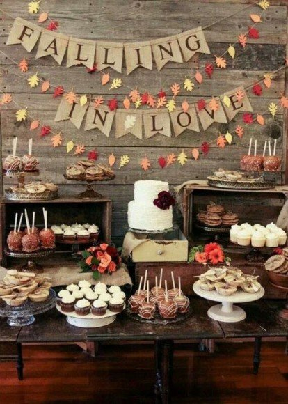 Speaking of dessert bar, this sign is adorable. It could also work in your ceremony space as well