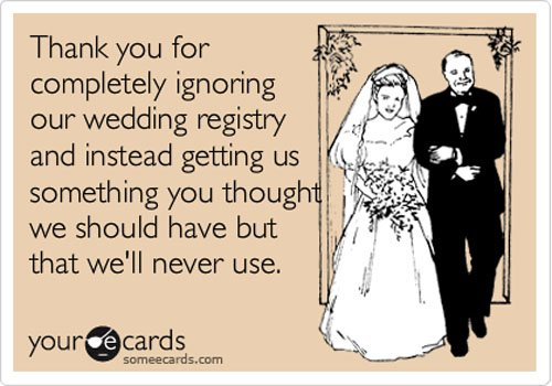 That's what a registry is for!