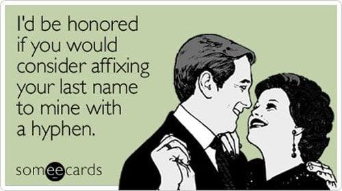 Hyphen or no hyphen, we'll take it.