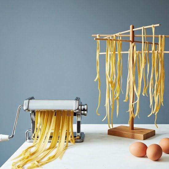 Pasta Machine & Drying Rack, $52