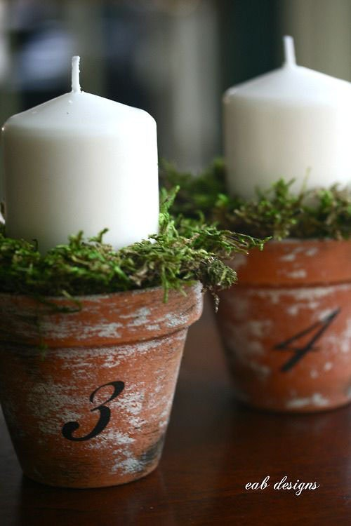 Terracota Candles