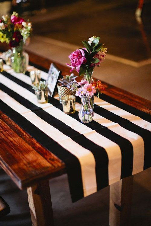 The Best Wedding Table Runners