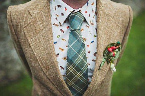 Unique Shirt/Tie