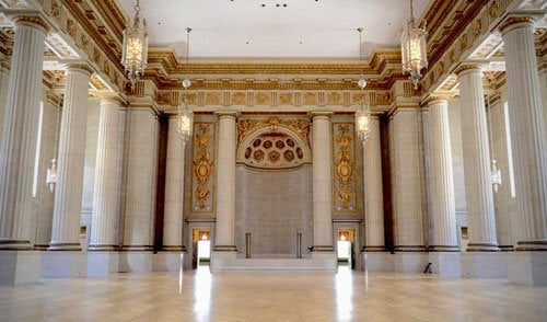 Andrew W Mellon Auditorium Wedding Venue