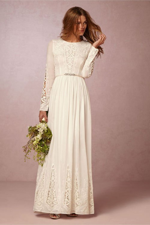 Wedding Dresses With Sleeves Under 500 : These wedding dresses under are a total steal