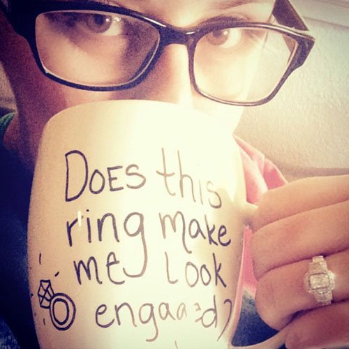 16 Engagement Announcements That Made Us Swoon