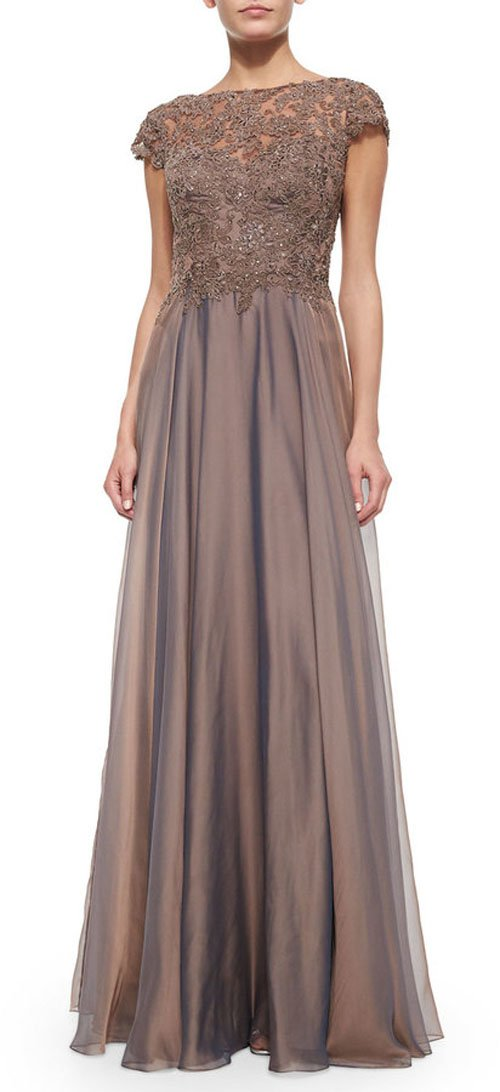 Mother of groom dress for rustic wedding