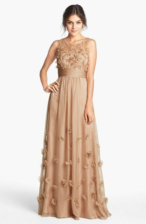 f9c0b5d6d5 21 Mother of the Bride Dresses for a Fall Winter Wedding