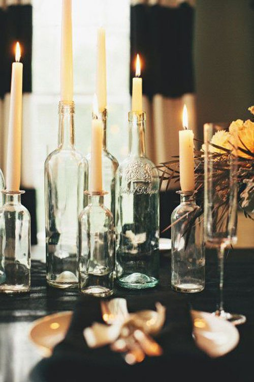 Exceptional Wine Bottle Candles