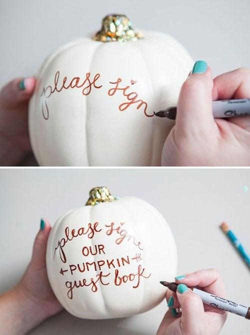 Pumpkin Guestbook