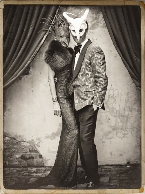 Creepily Vintage Photo Booth