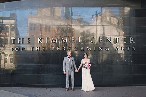 kimmel center for the performing arts wedding