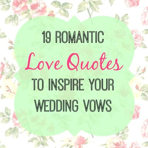 Love Quotes For Weddings Impressive 19 Love Quotes To Use In Your Wedding Vows  Woman Getting Married
