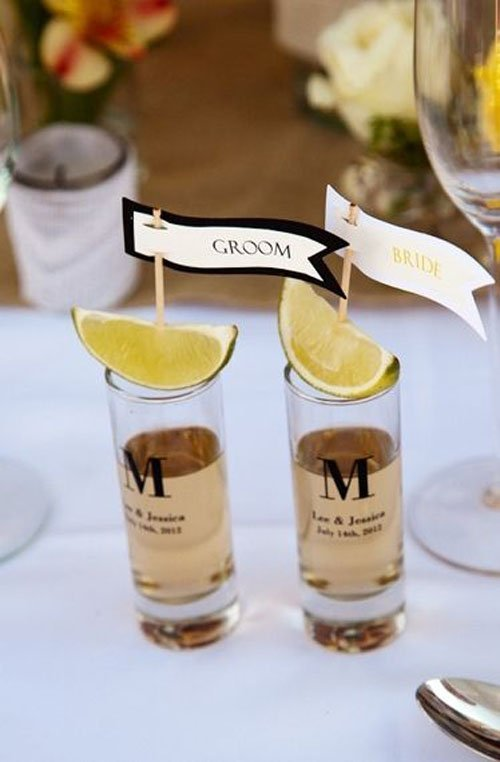 Instead of a champagne toast do a tequila shot
