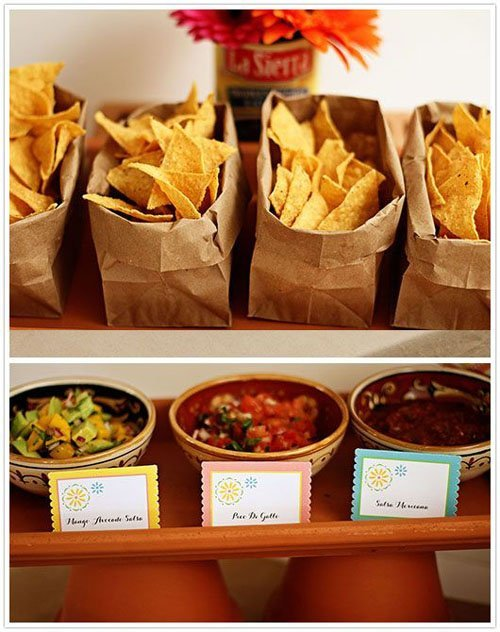 Put Out Your Favorite Tortilla Chips And Salsa Guac For Appetizers
