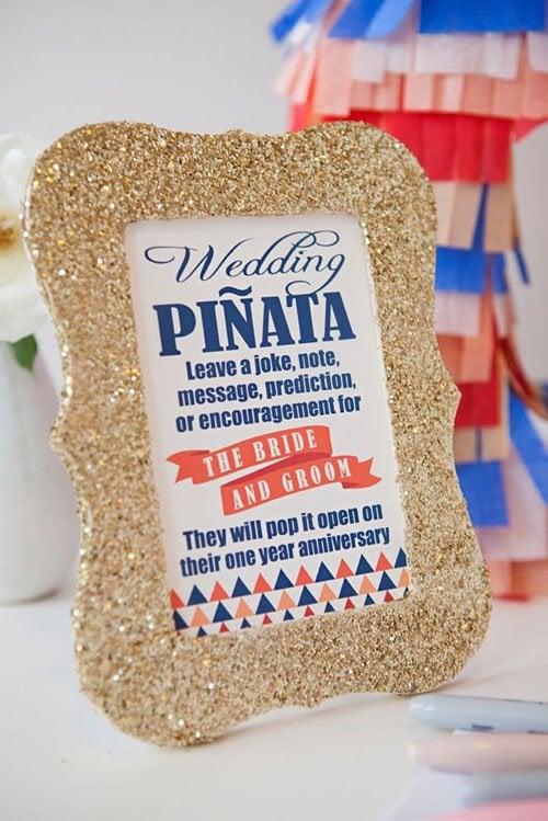 Make a Piñata guestbook