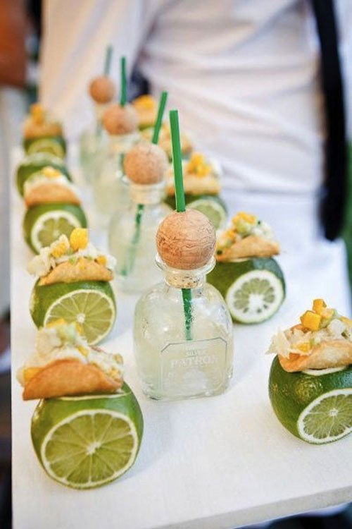 Or Treat Guests To Mini Tacos And Margaritas