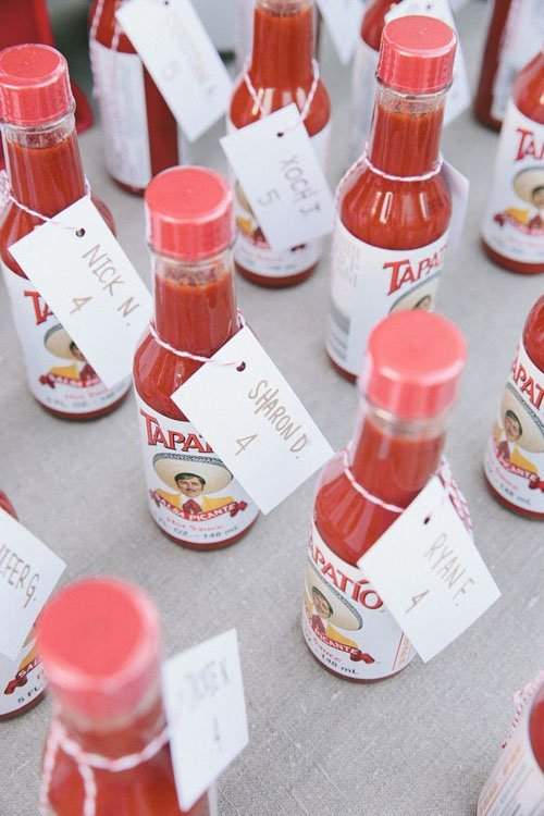 So does hot sauce!