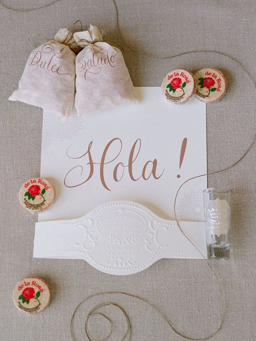 Put together a Mexican-inspired welcome packet