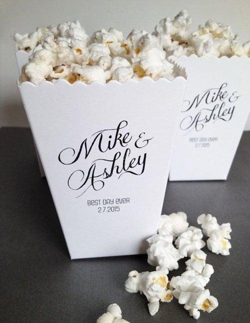 Mini Popcorn Bucket