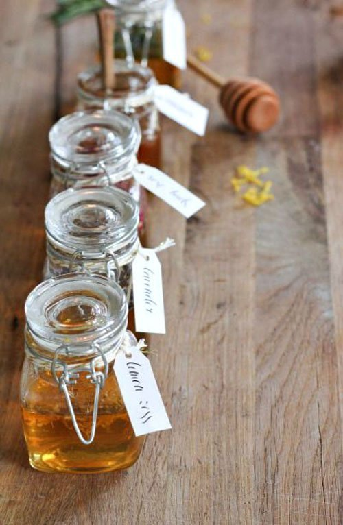 Mini Honey Jars