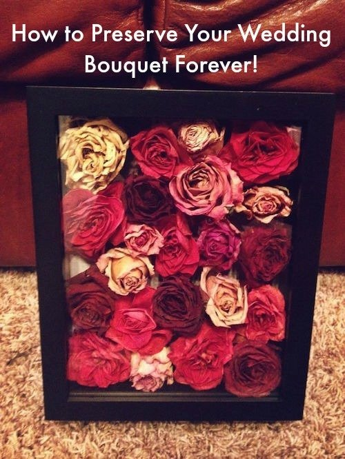 This Is How To Preserve Your Wedding Bouquet Forever