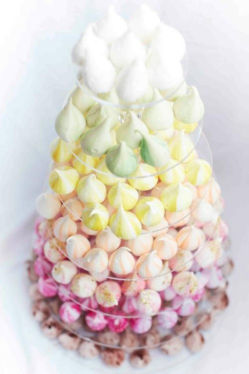 Meringue Kisses Cake