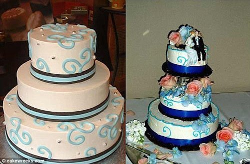 Wedding Cake Fails.These Wedding Cakes Did Not Turn Out As Planned