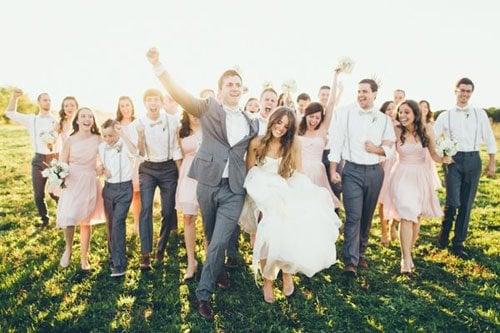 Lead a Wedding Party Parade