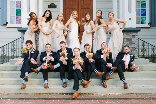20 Wedding Party Photos You Have to Get | Woman Getting Married