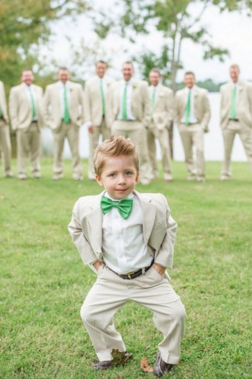 Snap a Picture of the Ring Bearer