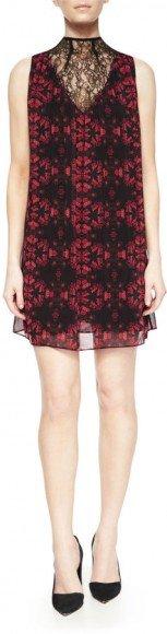 Alice + Olivia Lotus Flower Printed Sleeveless Dress • Alice + Olivia • $208