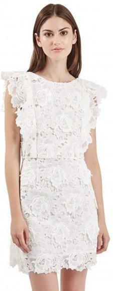 Topshop Lace A-Line Dress • Topshop • $160