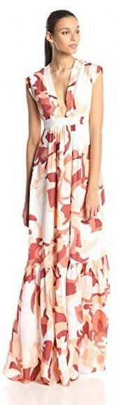 Rachel Zoe Women's Pammy Silk Floral Swirl Maxi Dress • Rachel Zoe • $290–355