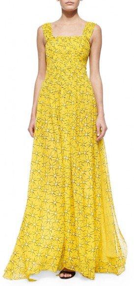 Diane von Furstenberg Star-Print A-Line Maxi Dress • Diane von Furstenberg • $279