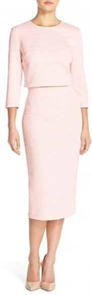 Donna Morgan Jacquard Two-Piece Midi Dress • Donna Morgan • $158