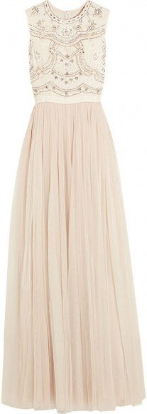 Needle & Thread Sequin-Embellished Crepe and Tulle Gown • Needle & Thread • $280