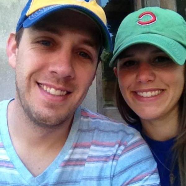 Lauren and her fiancé Chris