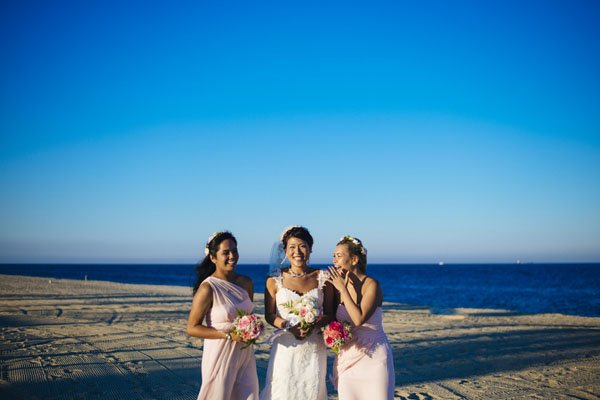 A Beachfront New Jersey Wedding | Woman Getting Married