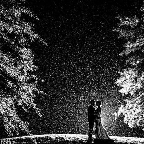 Rain On Your Wedding Day: 11 Beautiful Rainy Day Wedding Photos