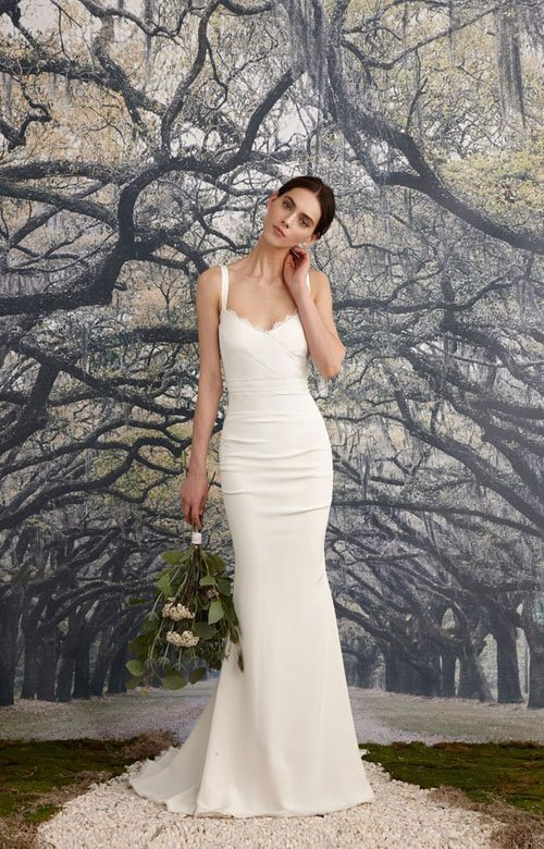 Stunning But Simple Wedding Dresses