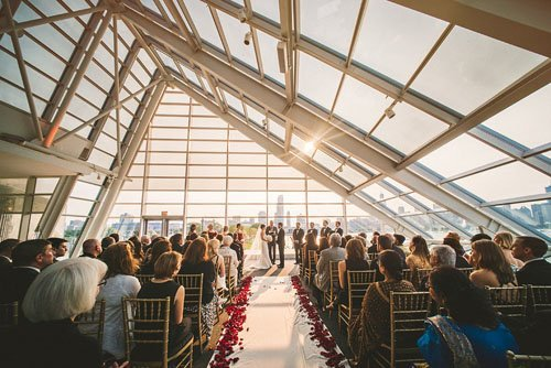 Wedding Venue Review Adler Planetarium