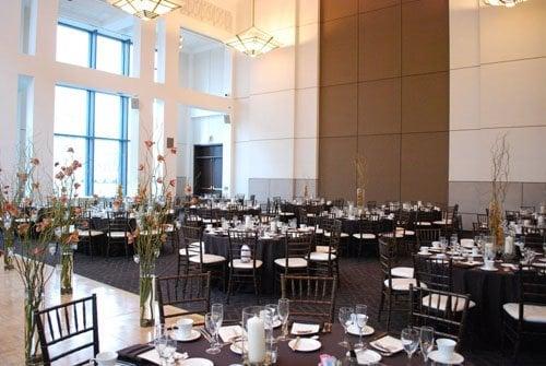 Kasbeer Hall ballroom at Water Tower Campus