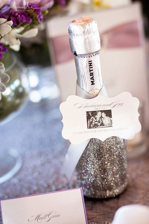 Where To Find Mini Champagne Bottle Wedding Favors Woman Getting Married