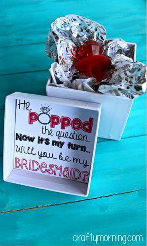 Fun Ways to Ask Your Friends to Be Your Bridesmaid